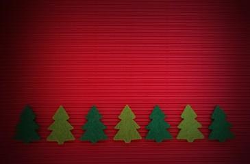 Hintergrund Weihnachten mit Tannenbäumen