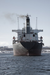Корма большого корабля
