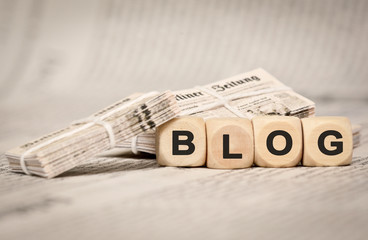 Blog Tageszeitung alt