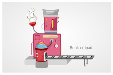 book to i pad