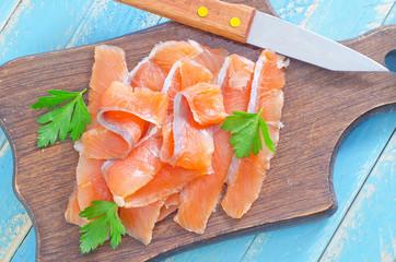 salmon on board
