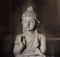 buddha meditation closeup