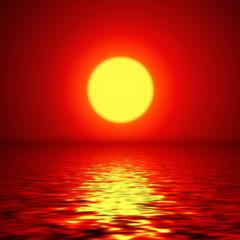 In de dag Olijf Sunset background, vector design