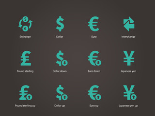 Exchange Rate icons.