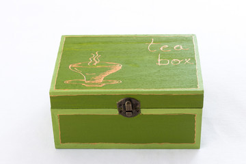 Cute tea box