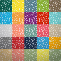 abstract square retro background