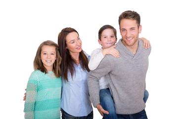 Wall Mural - glückliche familie
