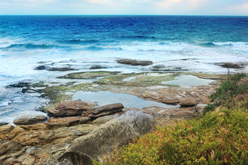 Tidal rocks Tamarama