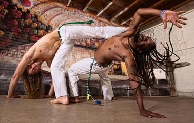 Capoeira Kicking