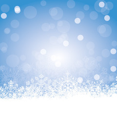 Background With Snowflakes 1811