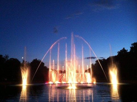 Sons et Lumières au château de Luneville