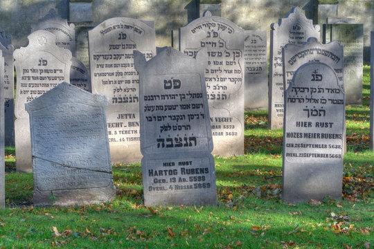 Jewish cemetery in Elburg, Netherlands