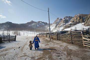 Gorkhi-Terelji National Park, Mongolia