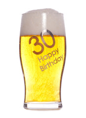 30th Birthday beer