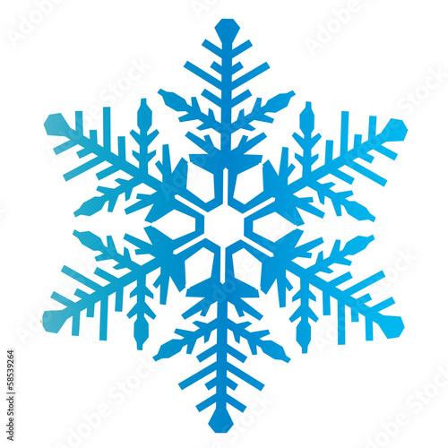 Flocon de neige photo libre de droits sur la banque d - Dessins flocons de neige ...
