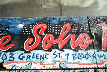 Graffiti in Soho