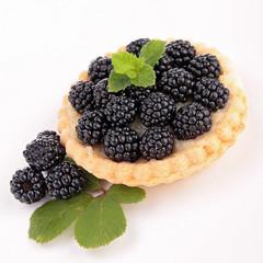 blackberries pastry