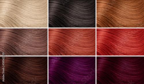 Натуральные цвета волос названия