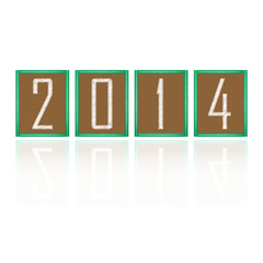 happy new year 2014 background,abstract background