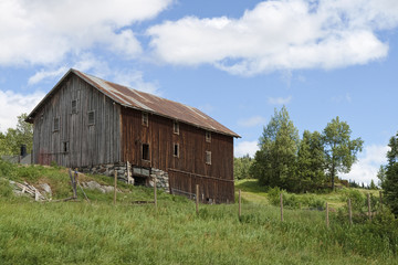 Old Barn in the Field