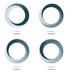 Infinite Loop Vector Design Elements