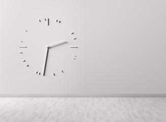 Big clock on the wall
