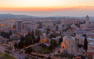 Jerusalem before Sunrise