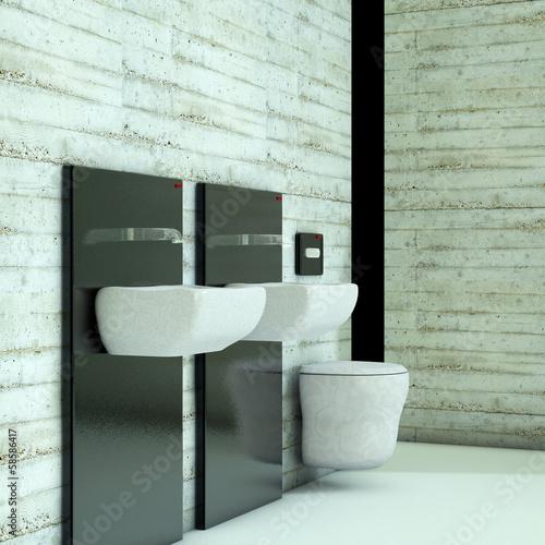 badezimmer 3d render stockfotos und lizenzfreie bilder auf bild 58586417. Black Bedroom Furniture Sets. Home Design Ideas