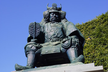 武田信玄公の銅像