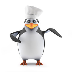 Penguin is a world renowned chef