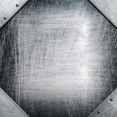 metal template with octagon shape