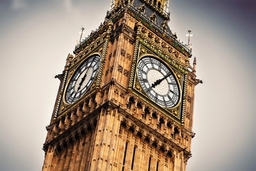 Wall Mural - Big Ben, the bell of the clock close up. London, England