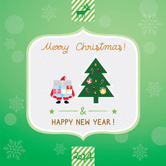 Christmas greeting card3