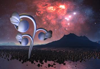 Alien Plants on an Alien Planet