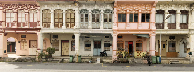 Heritage Houses, George Town, Penang, Malaysia