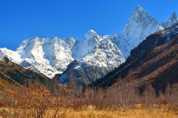 Wall Mural - Autumn in Caucasus