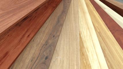 Flooring laminate or parqet samples