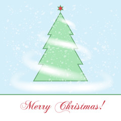 Vector Merry Christmas abstract background
