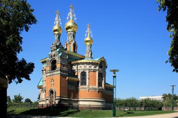 Russische Kapelle  Mathildenhöhe Darmstadt - Bild 2