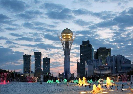 Astana Kazakhstan urban landscape