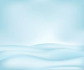 calm free winter landscape plain scene vector