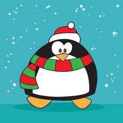 Holiday penguin weird