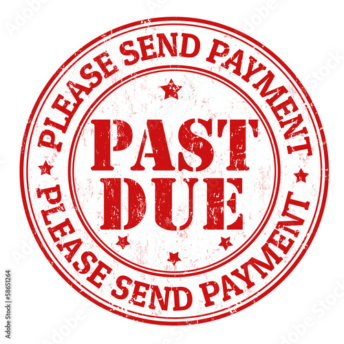 Past Due Stamp Stock Image And Royalty Free Vector Files On Fotolia