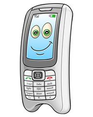 Cartoon mobile phone