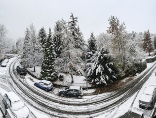 Winter time, Varese - Italy