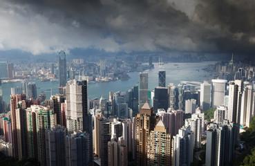 Hong Kong island from Victoria's Peak