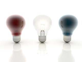 multicolor bulb
