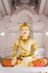 King San Muang Ma monument in Wat Faham , King nomber 7 Of Lann