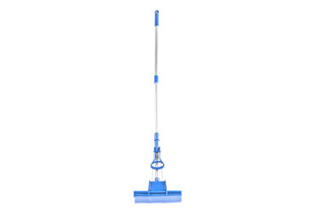 A  fiber mop for cleaning floor