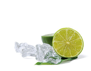 Lime and ice.